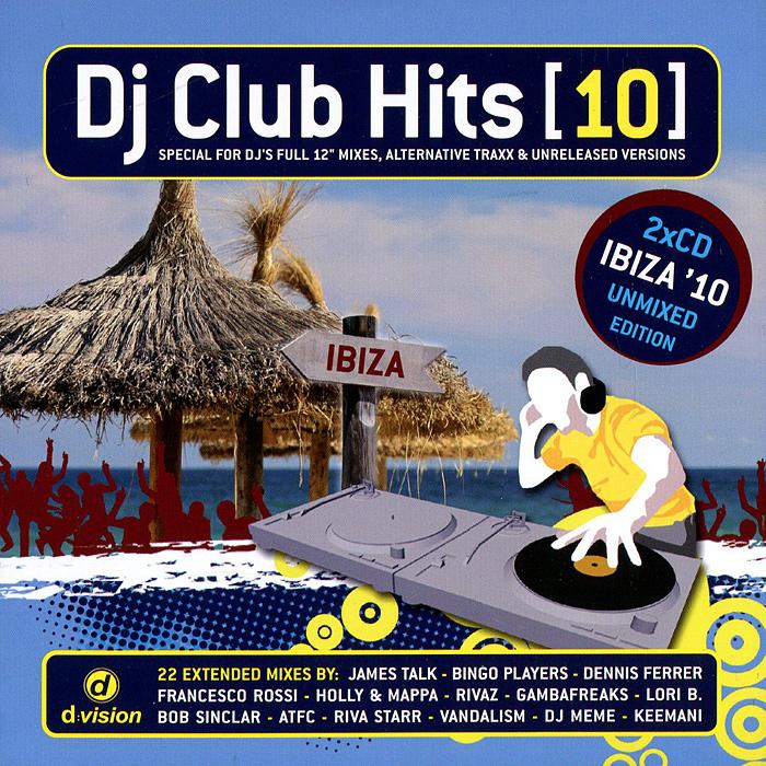 DJ Club.Hits (10) (2 CD) музыка cd dvd dj dj best disco dsd cd