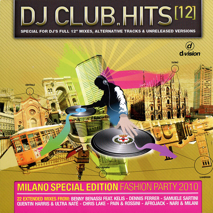 DJ Club.Hits (12) (2 CD) музыка cd dvd dsd 1cd