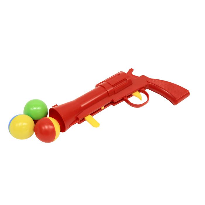 Пистолет Stellar с шариками, цвет: красный. 01334