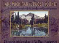 Lake Michigan To Puget SoundJBL6036500Альбом на английском языке. Год издания не указан, предположительно1910 год. Альбомный формат. Оригинальная обложка. Фотоиллюстрации в прекрасном состоянии. В настоящем издании представлены отдельные цветные фотоиллюстрации (наклеенные) наиболее живописных мест озера Мичиган, сделанные с фотографий известных фотографов.