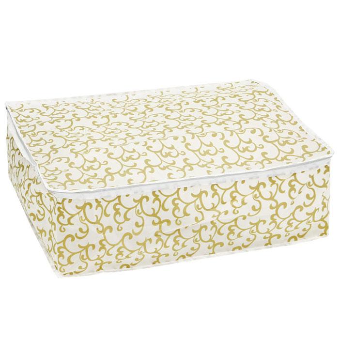 Чехол для хранения Eva, цвет: желтый, 60 см х 40 см х 20 см. Е-5201 чехол для хранения одежды eva цвет синий 60 х 92 см