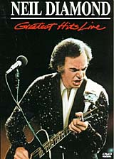 Neil Diamond's self-revealing style has established him as one of the most popular singer/songwriters in pop music. His legendary status as a live performer is fully confirmed with the 18 songs on this collection. Recorded at the Aquarius Theater in Los Angeles, Greatest Hits Live captures Neil and his band at their peak, performing the best of Neil's hit-filled catalog.Songs:01.        America02.        September Morn03.        I'm Alive04.        Sweet Caroline05.        Cherry, Cherry06.        I Am ... I Said07.        You Don't Bring Me Flowers08.        Sweet Caroline09.        I Am ... I Said10.        Headed For The Future11.        Hello Again12.        Heartlight13.        Jungleline14.        You Don't Bring Me Flowers15.        Forever In Blue Jeans16.        Teach me Tonight17.        Golden Slumbers/Carry That Weight/The End (Medley) 18.        Brother Love's Traveling Salvation Show