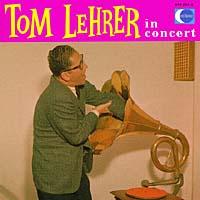 Том Лирер Tom Lehrer. Tom Lehrer In Concert magnum live in concert