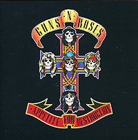 Guns N' Roses Guns N' Roses. Appetite For Destruction футболка стрэйч printio guns n roses