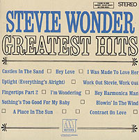 Stevie Wonder.  Greatest Hits Motown Records