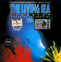 Стинг The Living Sea. Soundtrack From The Imax Film aegean sea scenery sea tree beach 3d wallpaper tv background wallpaper the living room sofa backdrop mural