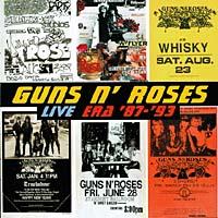 Guns N' Roses Guns N' Roses. Live Era '87 - '93 (2 CD) guns n roses guns n roses live in new york city february 2 1988