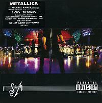 Metallica,San Francisco Symphony Orchestra,Майкл Кэймен Metallica. S & M (2 CD) metallica death magnetic cd