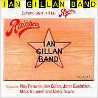Ian Gillan Band Ian Gillan Band. Live At The Rainbow ian fleming diamonds are forever