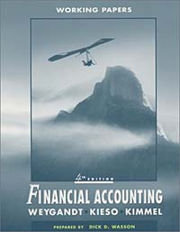 Financial Accounting, Working Papers working guide to reservoir exploration and appraisal