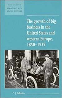 The Growth of Big Business in the United States and Western Europe, 1850-1939 (New Studies in Economics and Social History)
