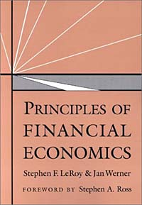 Principles of Financial Economics handbook of mathematical economics 2 handbooks in economics