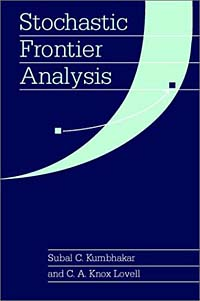 Stochastic Frontier Analysis mcfadden structural analysis of discrete data w ith econometric applications