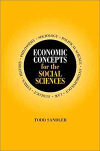 Economic Concepts for the Social Sciences the history of the social sciences since 1945