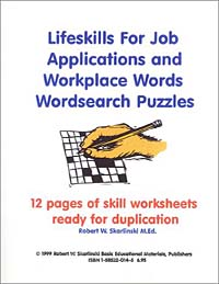 Job Applications and Workplace Words Wordsearch Puzzles get wise mastering vocabulary skills get wise mastering vocabulary skills