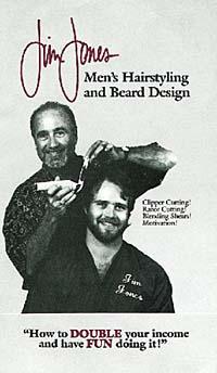 Men's Hairstyles and Beard Designs: Clipper Cutting, Razor Cutting, Blending Shears, Motivation