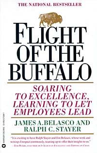 Flight of the Buffalo : Soaring to Excellence, Learning to Let Employees Lead david pottruck s stacking the deck how to lead breakthrough change against any odds