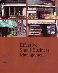 Effective Small Business Management (Harcourt College Publishers Series in Entrepreneurship)