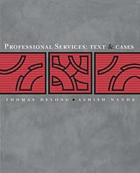 Professional Services: Text and Cases cases materials and text on consumer law