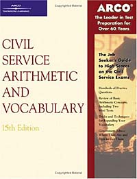 Civil Service Arithmetic & Vocabulary (Arco Civil Service Test Tutor) victorian america and the civil war