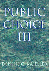 Public Choice III клавдия солодушкина economics is your choice