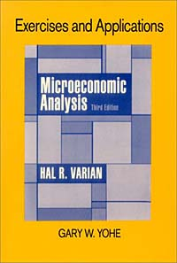 Exercises and Applications for Microeconomic Analysis