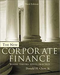 The New Corporate Finance