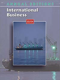 Annual Editions: International Business 03/04 fundamentals of physics extended 9th edition international student version with wileyplus set