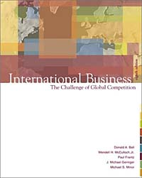 International Business: The Challenge of Global Competition (8th Edition) the fundamentals of international business