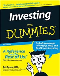 Investing for Dummies, Third Edition reid hoffman angel investing the gust guide to making money and having fun investing in startups