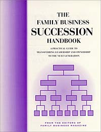 The Family Business Succession Handbook business succession planning for dummies