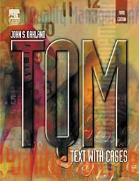 TQM: Text with Cases, Third Edition (TQM: Text with Cases) corporate real estate management in tanzania