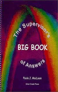 The Supervisor's Big Book of Answers great big pressure cooker book