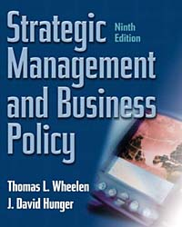 Strategic Management and Business Policy, Ninth Edition strategic management of research