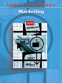 Annual Editions: Marketing 04/05 principles of international marketing