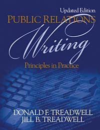 Public Relations Writing: Principles in Practice gre verbal and writing chinese edition