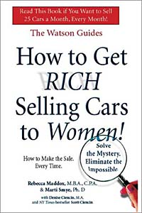 How to Get Rich Selling Cars to Women
