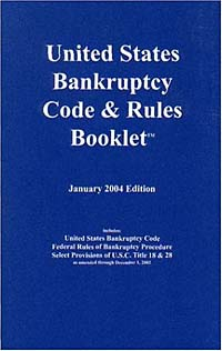 U.S. Bankruptcy Code & Rules Booklet 2004 edith hotchkiss corporate financial distress and bankruptcy predict and avoid bankruptcy analyze and invest in distressed debt