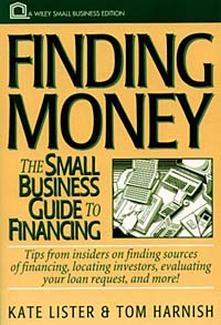 Finding Money : The Small Business Guide to Financing (Small Business Series) what are behind the science parks and business incubators in china