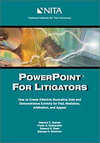 Powerpoint for Litigators: How to Create Demonstrative Exhibits and Illustrative AIDS for Trial, Mediation, and Arbitration powerpoint 2016办公应用 从新手到高手(附光盘)