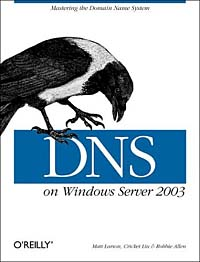 Dns on Windows Server 2003 administrator