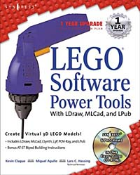 LEGO Software Power Tools, With LDraw, MLCad, and LPub netcat power tools