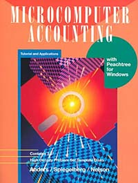 Microcomputer Accounting : Tutorial and Applications with Peachtree for Windows inventory accounting