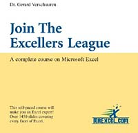 Join the Excellers League: A Complete Course on Microsoft Excel (Visual Training Series) the life of a minor league quarterback