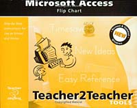 Microsoft Access Flip Chart personal computer and software basics in english