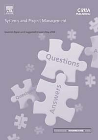 Systems and Project Management May 2003 Exam Questions and Answers