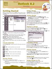Microsoft Outlook 8.2 Quick Source Reference Guide for Macintosh corel wordperfect 9 0 quick source reference guide