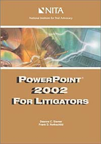 Powerpoint 2002 for Litigators belousov a security features of banknotes and other documents methods of authentication manual денежные билеты бланки ценных бумаг и документов