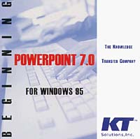 Beginning PowerPoint 7.0 for Windows 95 (Microsoft PowerPoint 7.0) completion