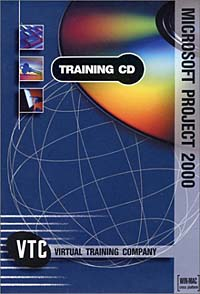 Microsoft Project 2000 VTC Training CD autocad 2004 for architects vtc training cd
